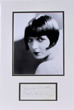 Louise Brooks Autograph Signed